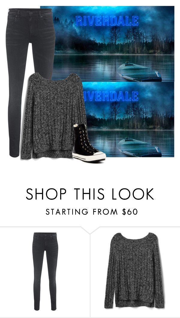 """""""Can't wait for Riverdale """" by basic-queen ❤ liked on Polyvore featuring True Religion, Gap, Converse, jughead, Archie, riverdale, teamveronica and teambetty"""