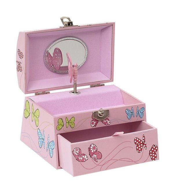 Bobble Art Small Jewellery Box - Butterfly