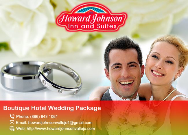 Howard Johnson is the perfect Boutique Hotel Wedding Package for your big moment.