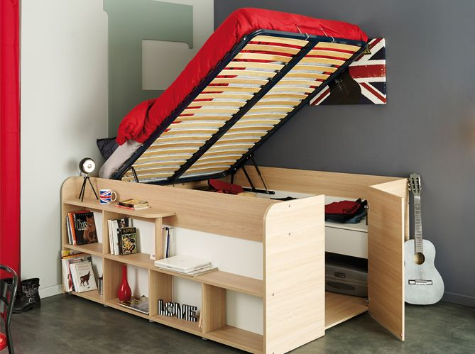 les 25 meilleures id es de la cat gorie rangement sous le lit sur pinterest organisation de. Black Bedroom Furniture Sets. Home Design Ideas