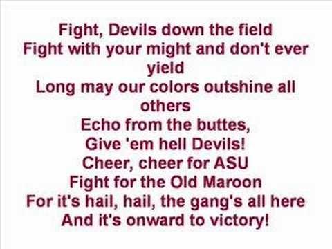 ▶ Arizona State University - Fight Song - YouTube