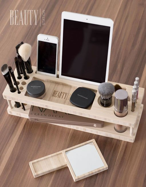 Modern Makeup Organizer for iPhone, iPad, and Devices