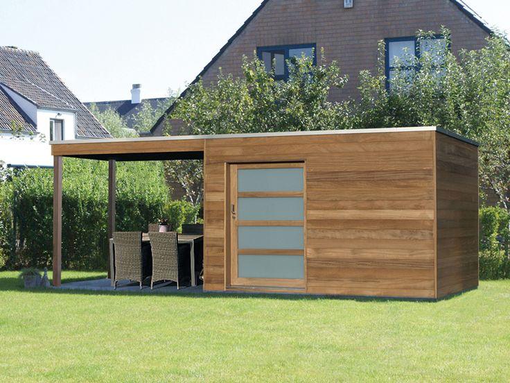 25 best ideas about flachdach gartenhaus on pinterest. Black Bedroom Furniture Sets. Home Design Ideas