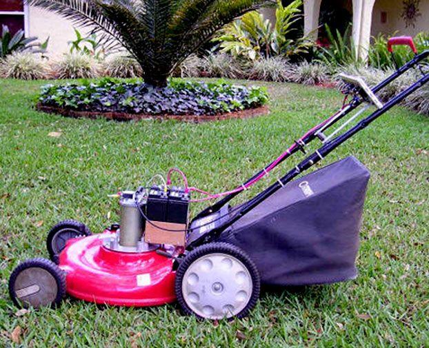 grass cutting machine home depot