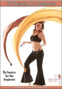 """Veil Poi video """"Poi Spinning for Beginners: Poi Basics for the Beginner"""" by: Cheeky Girls Production.  (I have this, very good)"""