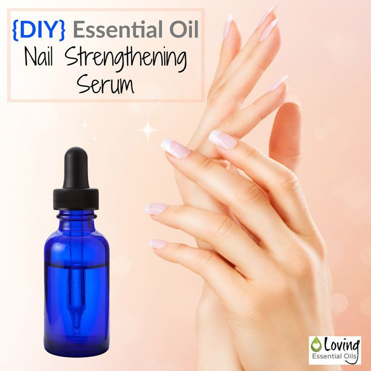 DIY Nail Strengthening Serum Nails can get pretty beat up and neglected in our daily lives. Try this simple recipe for fingernail, uses lavender, myrrh, fractionated coconut oil...