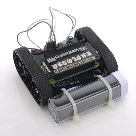 Explorer Robot Kit from Raspberry Pi for Kids - Pimoroni