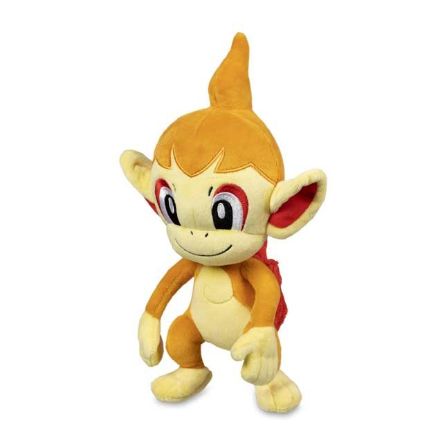 The Official Chimchar Poke Plush Features The Fire Type First