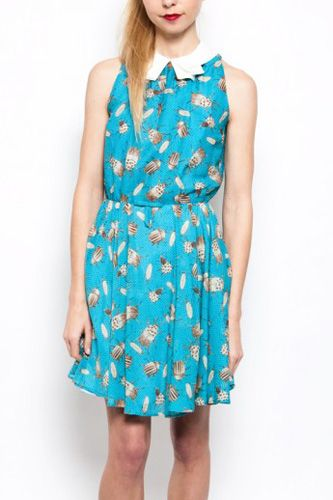 We're buggin' for this Karen Walker insect-print dress