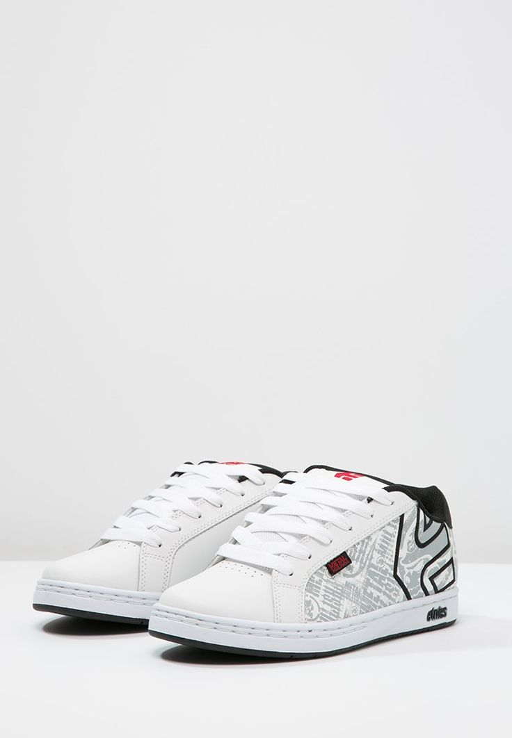 Etnies METAL MULISHA FADER - Chaussures de skate - white/black/red - ZALANDO.BE