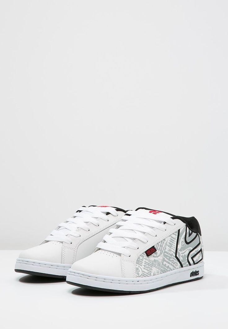 Etnies METAL MULISHA FADER - Chaussures de skate - white/black/red - ZALANDO.BE