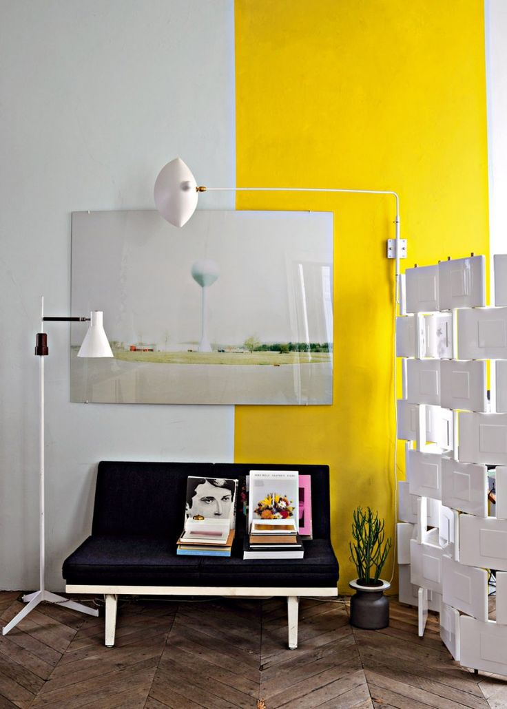 Yellow Accent Wall Decor : Ideas about yellow accent walls on m in