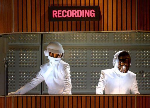 Behind the helmets: Grammy 2014 dominators Daft Punk share their human element. http://music.yahoo.com/blogs/music-news/mysteries-solved--the-secret-lives-of-grammy-winners-daft-punk-064826981.html #daftpunk #grammys