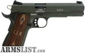 For Sale: SIG SAUER 1911 22 OD GREEN