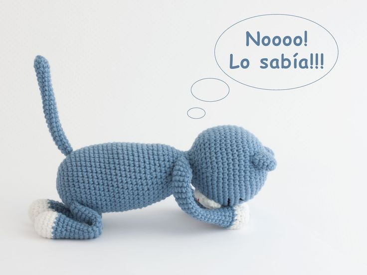 8 best Gatos Crochet images on Pinterest | Crochet pattern, Cats and ...