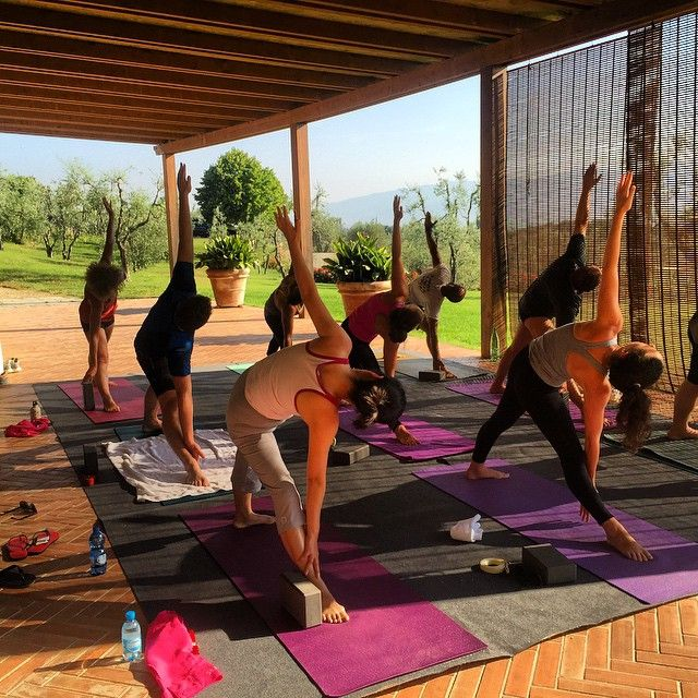Amazing class this morning #tuscanfitness #lovemystudents #tuscany #summer #happiness