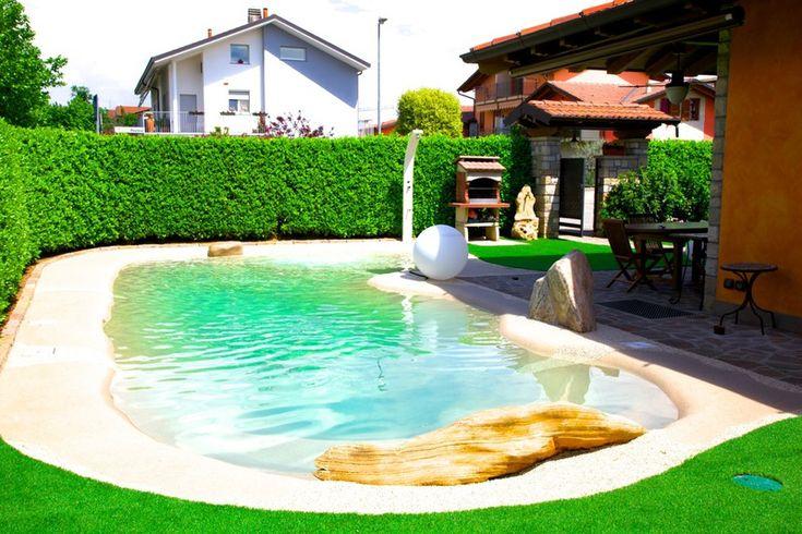 Biodesign Pool kleiner Garten   Kleiner garten, Garten ...