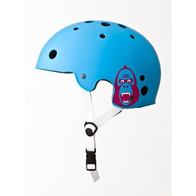 Casco King Kong New Fit azul cyan