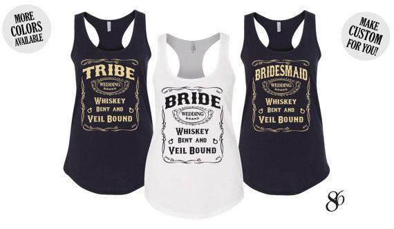 Hey, I found this really awesome Etsy listing at https://www.etsy.com/listing/473189867/bride-tribe-country-bachelorette-party