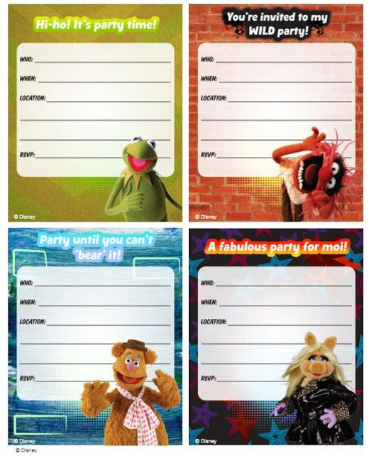 Muppets Animal Free Printable: 766 Best Images About Freebies On Pinterest