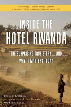@Overstock - In 2004, the Academy Award?nominated movie Hotel Rwanda lionized hotel manager Paul Rusesabagina for single-handedly saving the lives of all who sought refuge in the Hotel des Milles Collines during Rwanda's genocide against the Tutsi in 19...http://www.overstock.com/Books-Movies-Music-Games/Inside-the-Hotel-Rwanda/7260030/product.html?CID=214117 $17.20