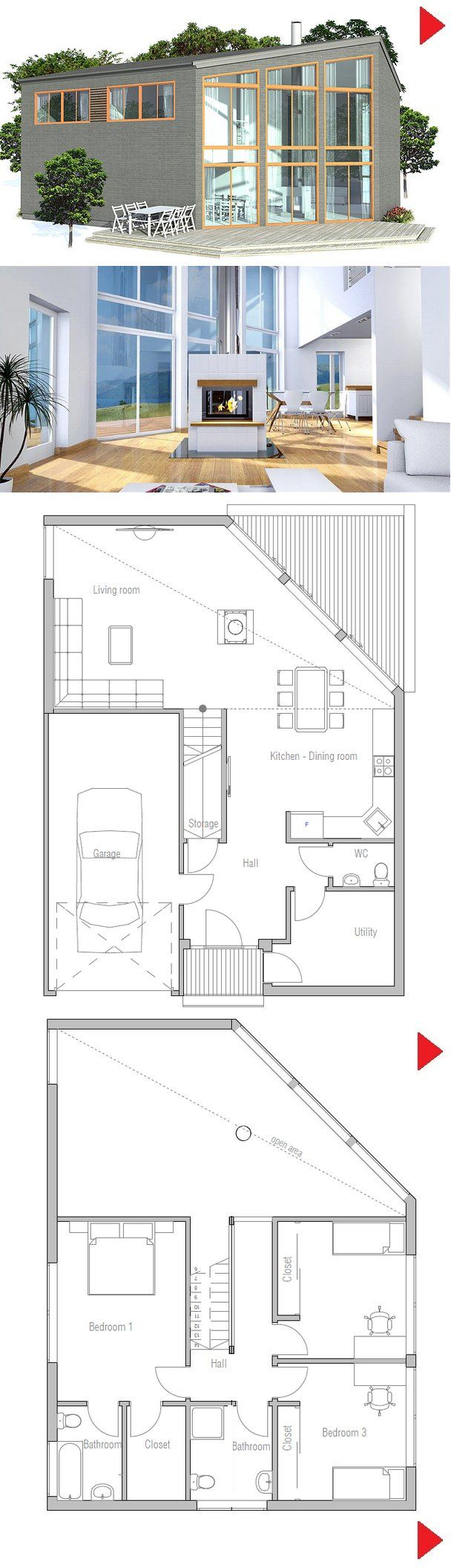 1000+ images about Sketch on Pinterest Modern houses, Modern ... - ^
