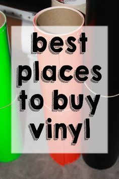 Vinyl Expressions : Where is the best place to buy vinyl?