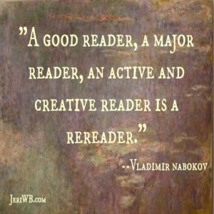 I need a quote, preferably from famous literature?