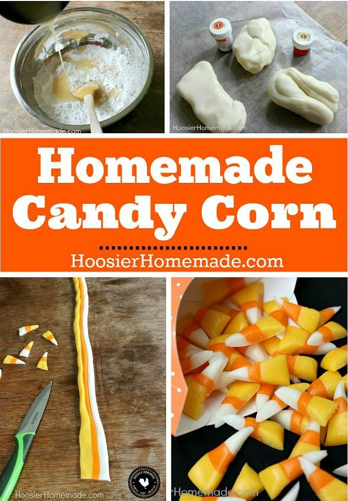 Homemade candies, Candy corn and Most popular on Pinterest