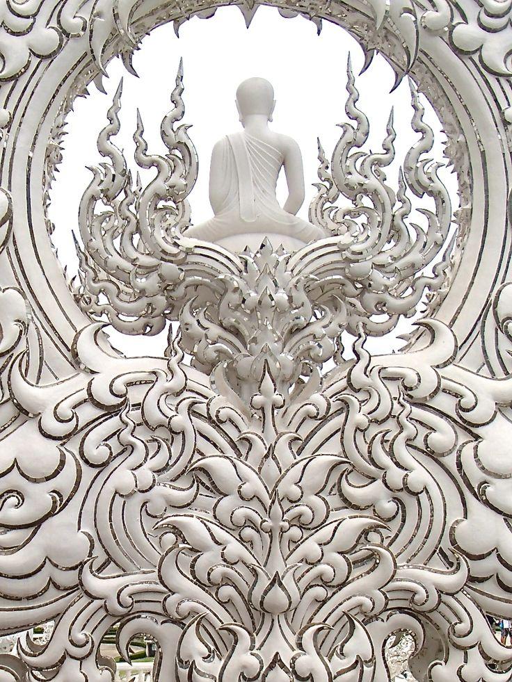White temple      #Thailand #ChiangMai
