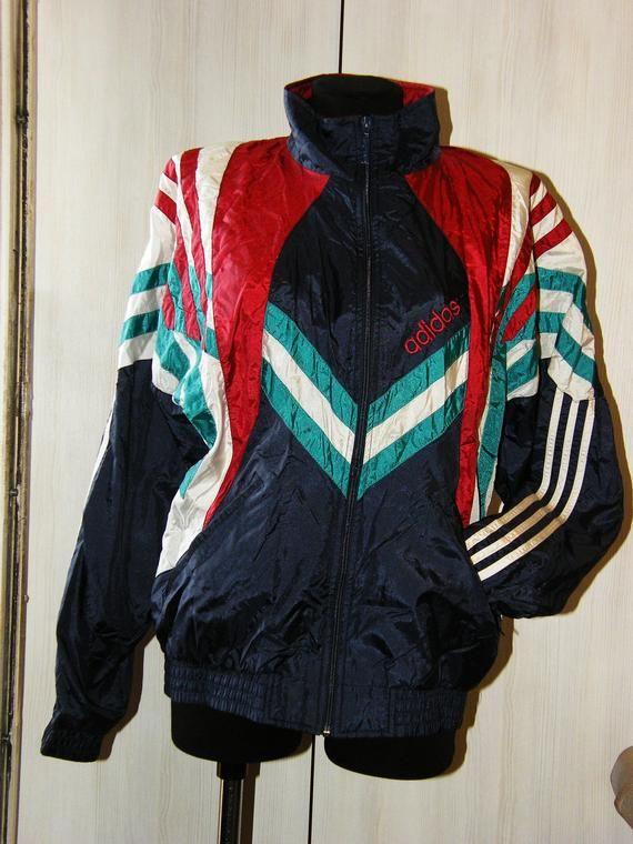Vintage Sport Jacket Adidas Original Men Sport Jacket Sports Jacket Jackets Adidas Originals