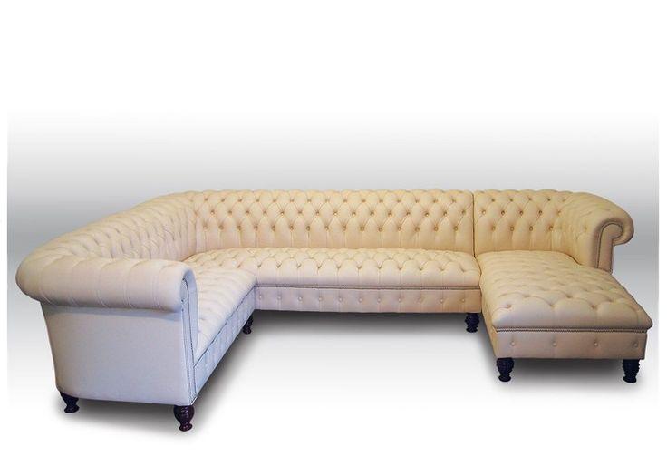 Chesterfield corner sofa [] - - It's Free! : Kingsgate Furniture