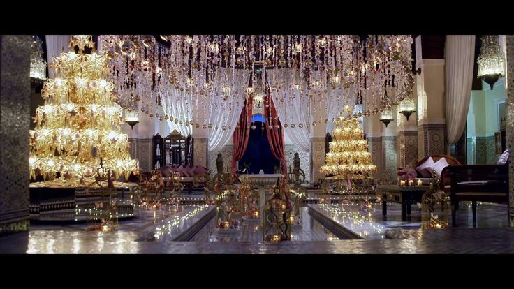Christmas and New Year at Royal Mansour
