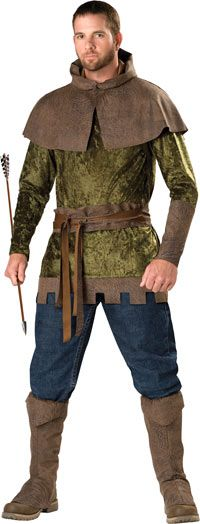 If my husband wanted to be the hunter this is pretty cool. Ignoring that it says robin hood.