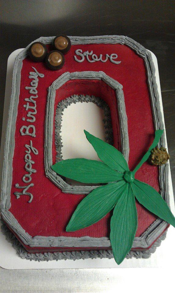 ohio state buckeye candy   Ohio State Buckeyes — Birthday Cakes