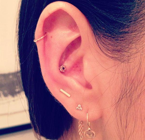 45 best Ear piercings images on Pinterest | Earrings, Ears ...