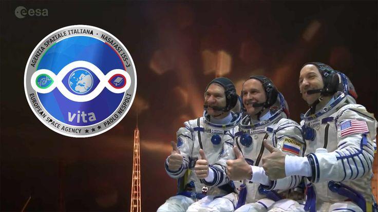 Vita mission Liftoff targeting ISS