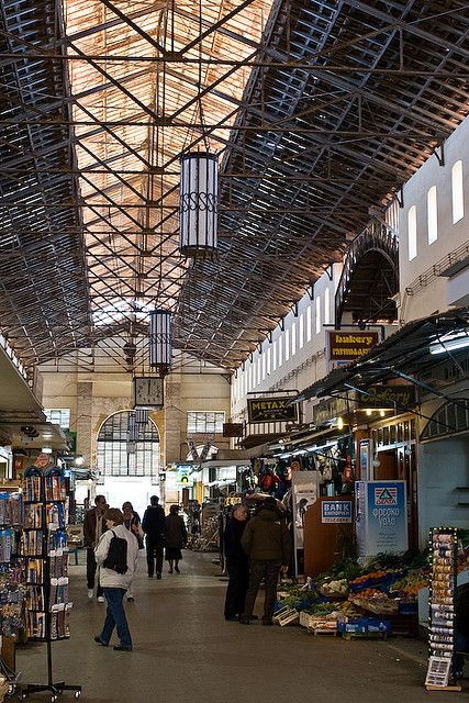 This is my Greece | Chania central market in Crete