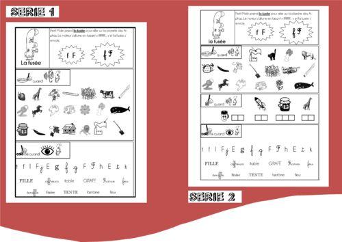 """Résultat de recherche d'images pour """"fiche phonologie alphas grande section"""""""