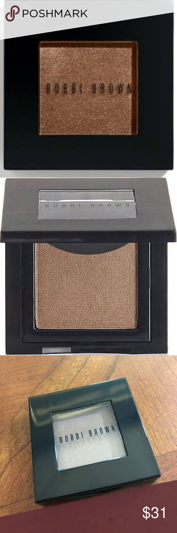 Bobbi Brown Metallic Eye Shadow in Burnt Sugar New without tags, never used. Photos 1-2 are stock photos. Photos 3-5 are of actual item. I do not trade. Bobbi Brown Makeup Eyeshadow