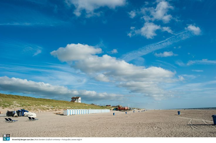 Strand bij Bergen aan Zee | Rob Donders Grafisch ontwerp + Fotografie