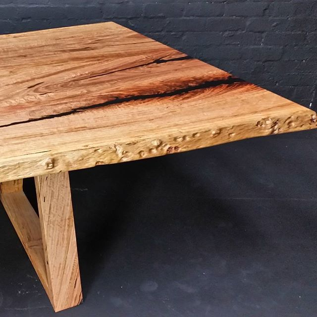 We love finding the beauty in each piece of timber www.eclipsefurniture.com.au #furniture #design #handcrafted #diningtable #timberfurniture #bespoke #interiordesign #decor #furnituredesign #reuse #repurpose #recycle #salvaged #solidtimber