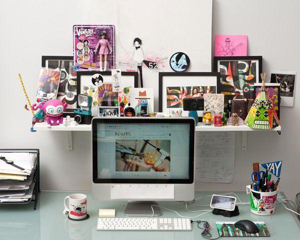 Creative Desks 43 best creative people's desks images on pinterest | desks
