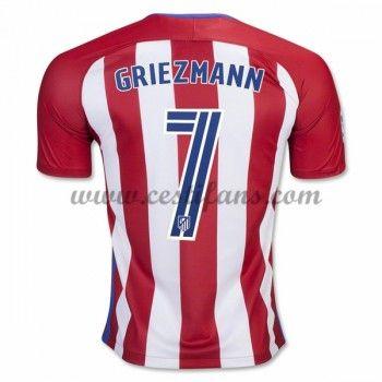 Atletico Madrid Fotbalové Dresy 2016-17 Griezmann 7 Domáci Dres