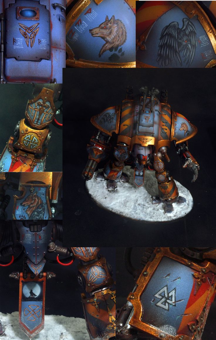 Imperial Knight Space Wolves Chapter, inspiration for a really cool cake.