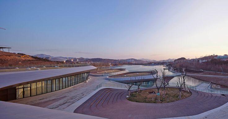 HHD_FUN heavenly water service center qingdao china designboom
