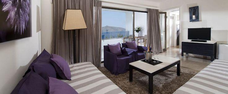 Seaview Suite of Sensimar Minos Palace