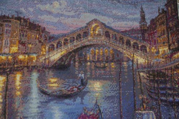 Venezia - Diamond Painting Home Decoration Finished Completed Wall Decor Embroidery Cross Stitch Rhinestone Needlework Mosaic