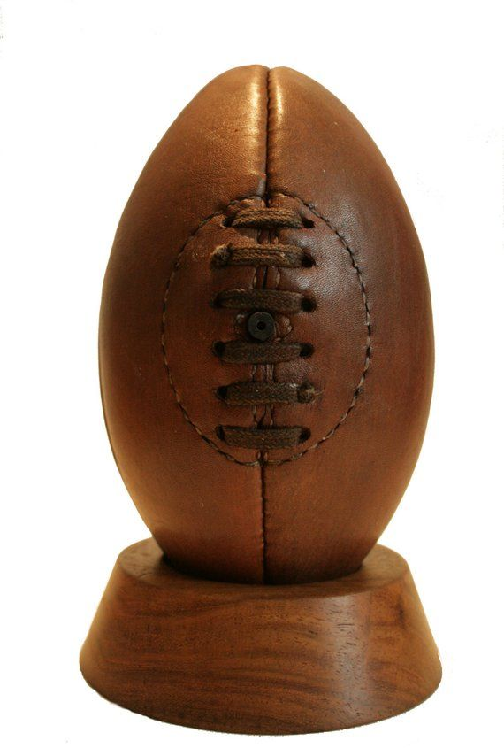 Rugby Ball Mini Genuine Leather Vintage Rugby Ball Rugby Etsy Rugby Ball Rugby Balls Balls Gifts