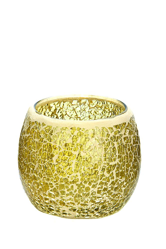 All that glitters is gold with this Gold medium mosaic. To see our entire range of mosaics, please click here: http://bit.ly/1zHtguh